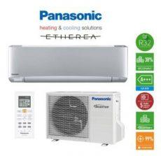 Panasonic XZ Etherea R32 ezüst klíma, 2,5 kW KIT-XZ25-VKE