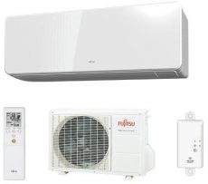 Fujitsu Design klíma, R32, 2,5 kW ASYG 09 KGTA / AOYG 09 KGCA