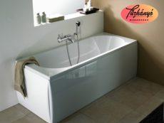 Alföldi Liner szifontakaró mosdóhoz, fehér 7228 L1 01