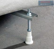 Alföldi Melina kombipack - mélyöblítésű, alsó kifolyású wc szett, 5500 V2 R1