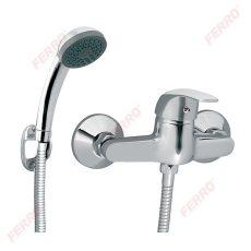 Ferro Vasto zuhanycsaptelep zuhanyszettel, króm BVA77