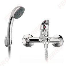 Ferro Smile kádcsaptelep zuhanyszettel, króm BSM11