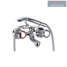 Ferro Standard kádcsaptelep zuhanyszettel, króm BST11