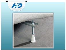Vízszintező láb peremrögzítő csomaggal H2O kádakhoz