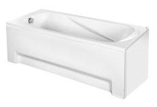 M-Acryl Sortiment egyenes akril kád, 150x75/160x75/170x75 cm, ajándék kádlábbal és peremrögzítővel 12048