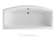M-Acryl Relax egyenes akril kád, 190x90 cm, ajándék kádlábbal és peremrögzítővel 12401