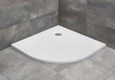 Radaway Zantos A íves, lapos zuhanytálca, 90x90 cm, ajándék szifonnal, M3ZNA9090-06