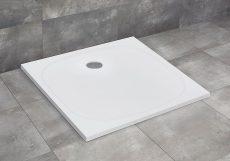 Radaway Zantos C lapos zuhanytálca, 80x80 cm, ajándék szifonnal, M3ZNC8080-06