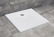 Radaway Zantos C lapos zuhanytálca, 90x90 cm, ajándék szifonnal, M3ZNC9090-06