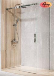 Radaway Espera KDJ szögletes, tolóajtós, zuhanykabin, 110x70x200 cm, 10090110-01-01/10092110-01-01/S1 70