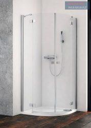 Radaway Essenza New PDD íves zuhanykabin, 90x90x200 cm, PDD90B+PDD90J
