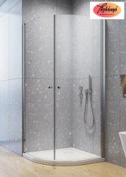 Radaway Eos PDD íves zuhanykabin, 80x80x197 cm, 37613-01-01N