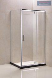 Wellmarkt szögletes zuhanykabin, tálca nélkül, 80x100 cm, MTRS-100-190