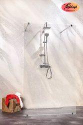 Sanotechnik Sanoflex Freedom I zuhanyfal, 127x195 cm, MW300