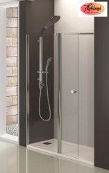 Sanotechnik Comfort kétrészes zuhanyajtó, 180x195 cm, DC120