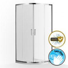 Wellis Caprera két tolóajtós, íves zuhanykabin, WC00432