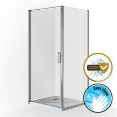 Wellis Quadrum szögletes zuhanykabin, 90x90x190 cm, WC00332