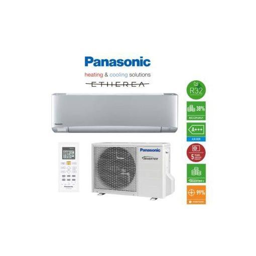 Panasonic XZ Etherea R32 ezüst klíma, 3,5 kW KIT-XZ35-TKE