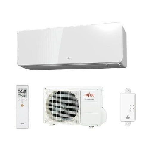 Fujitsu Design klíma, R32, 2 kW ASYG 07 KGTB / AOYG 07 KGCA
