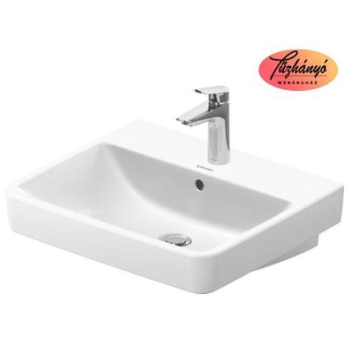 Alföldi Liner beépíthető mosdó, fehér, 61x47 cm, 5109 L1 R1