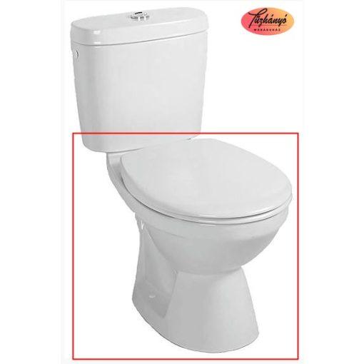 Alföldi Saval 2.0 mélyöblítésű, alsó kifolyású monoblokk wc, 7090 09 01
