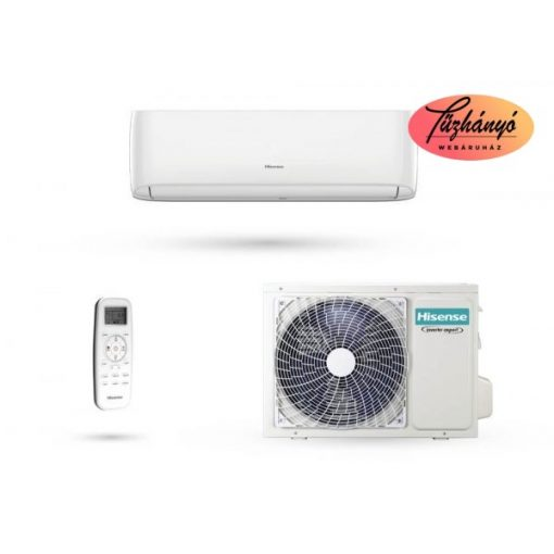 Hisense Eco Smart klíma szett, 2,6 kW, R32, AS-09UR4RYRCA01