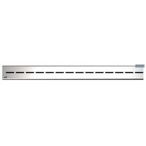 Alcaplast ROUTE Rács zuhanyfolyókához, rozsdamentes, matt, 750-950 mm, ROUTE