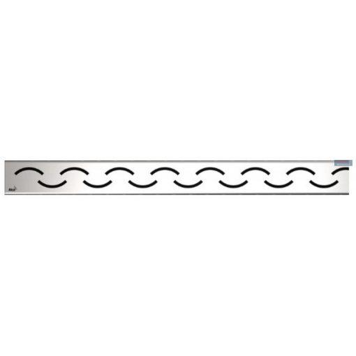 Alcaplast SMILE Rács zuhanyfolyókához, rozsdamentes, matt, 750-950 mm, SMILE