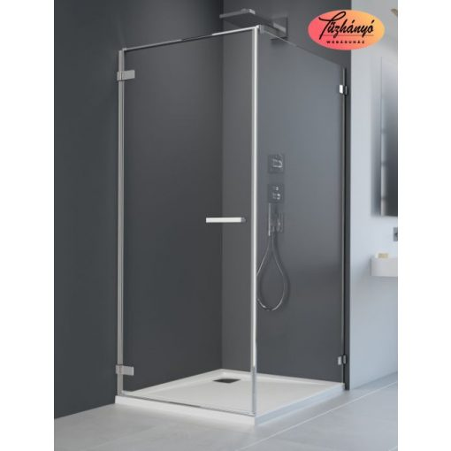 Radaway ARTA KDJ I aszimmetrikus zuhanykabin, 80x70 cm, KDJ I 80 + S1 70