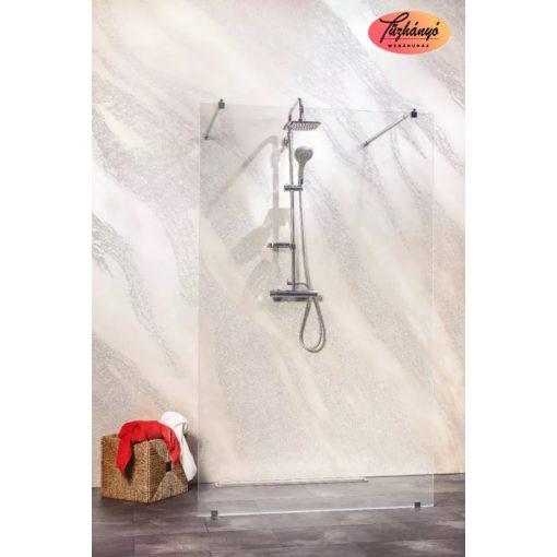 Sanotechnik Sanoflex Freedom I zuhanyfal, 117x195 cm, MW200