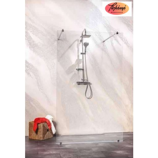 Sanotechnik Sanoflex Freedom I zuhanyfal, 147x195 cm, MW500