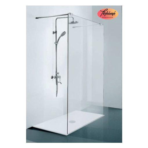 Sanotechnik Elegance zuhanyfal, 140x195 cm, N8400