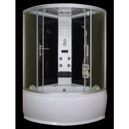 Sanotechnik Cuba hidromasszázs zuhanykabin elektronikával, 130x130x228 cm, TR25