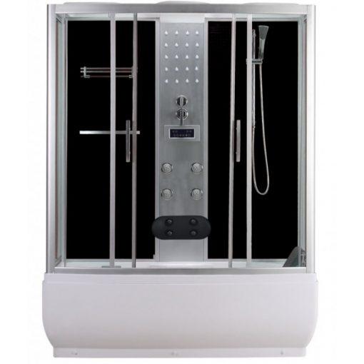 Sanotechnik Nevada hidromasszázs zuhanykabin elektronikával, 85x150x223 cm, PR150