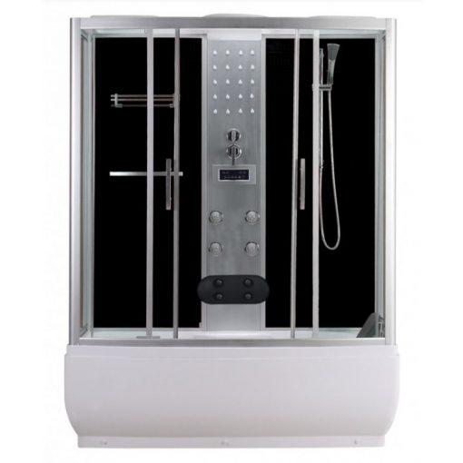 Sanotechnik Nevada hidromasszázs zuhanykabin elektronikával, 85x170x223 cm, PR170