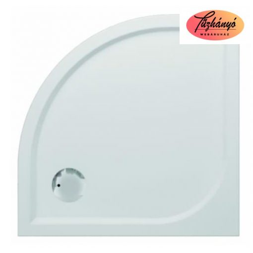 Sanotechnik Dita íves, öntött márvány, zuhanytálca, 80x80/90x90/100x100 cm, 20000