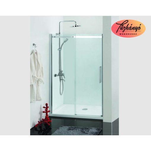 Sanotechnik Comfort tolóajtó, épített zuhanyfülkéhez, 120x195 cm, DB120U