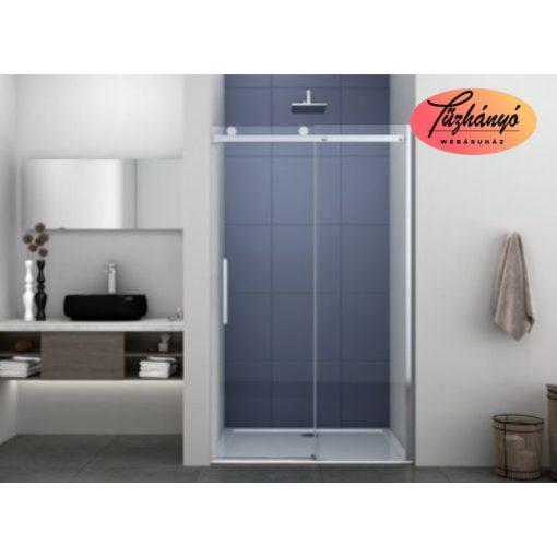 Sanotechnik Silba íves, akril zuhanytálca, 80x80 cm, 404901