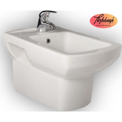 Sanotechnik Viva Aszimmetrikus, öntött márvány, zuhanytálca, 90x140 cm, 90040