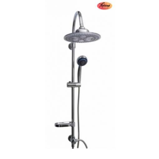 Sanotechnik Sínes zuhanyszett, LED-es fejzuhannyal, AS420
