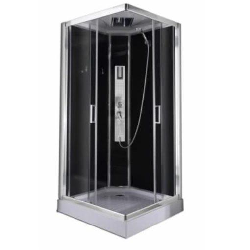 Sanotechnik Trend 2 hidromasszázs zuhanykabin elektronikával, 90x90x210 cm, CL71