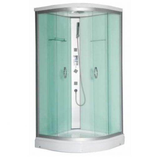 Sanotechnik TANGO Quick Line hidromasszázs zuhanykabin, 90x90x210 cm, CL03