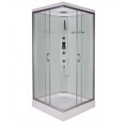 Sanotechnik TWIST Quick Line hidromasszázs zuhanykabin, 80x80x210 cm, CL05