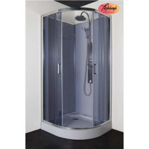 Sanotechnik SAMBA hidromasszázs zuhanykabin, 90x90x205 cm, PC90
