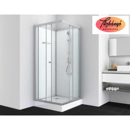 Sanotechnik FORTE 1 komplett zuhanykabin, szögletes, 80x80 cm, PS14