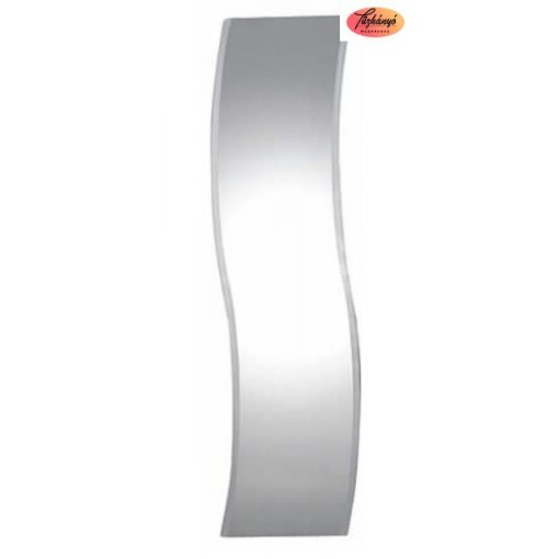 Sanotechnik Tükör hullámos, világítás nélkül, 44x144 cm, ML110