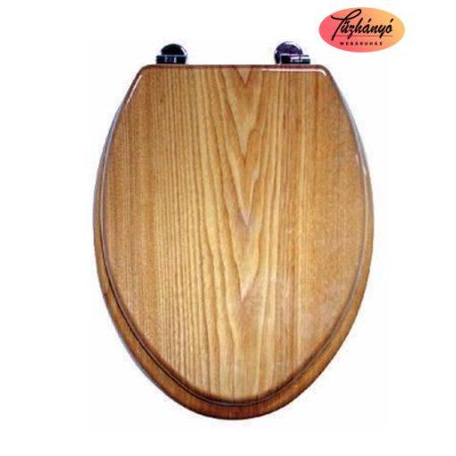 Sanotechnik Start Wc ülőke, világos fa, 29500